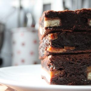 Lucky Dip Brownie tower