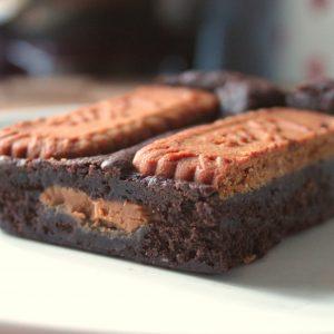 Biscoff brownie